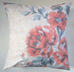 "Cushion Cover in Next Floral Maytown Coral 16"" Matches Curtains"